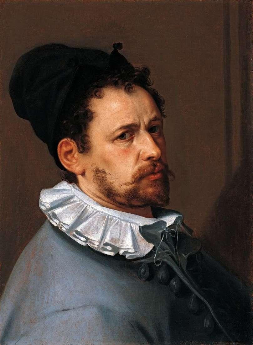 بورتريه ذاتي   Bartholomeus Spranger