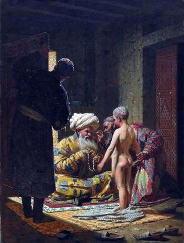 بيع العبد الطفل   فاسيلي Vereshchagin