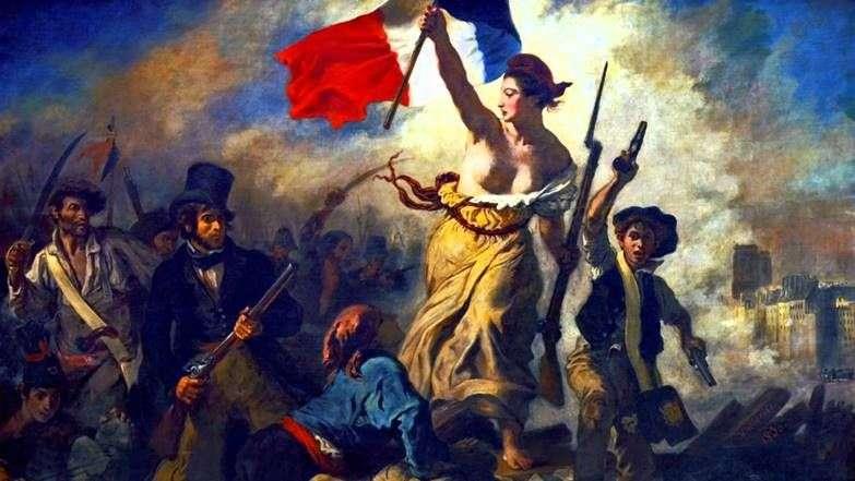 الحرية التي تقود الناس (الحرية على الحواجز)   يوجين ديلاكروا