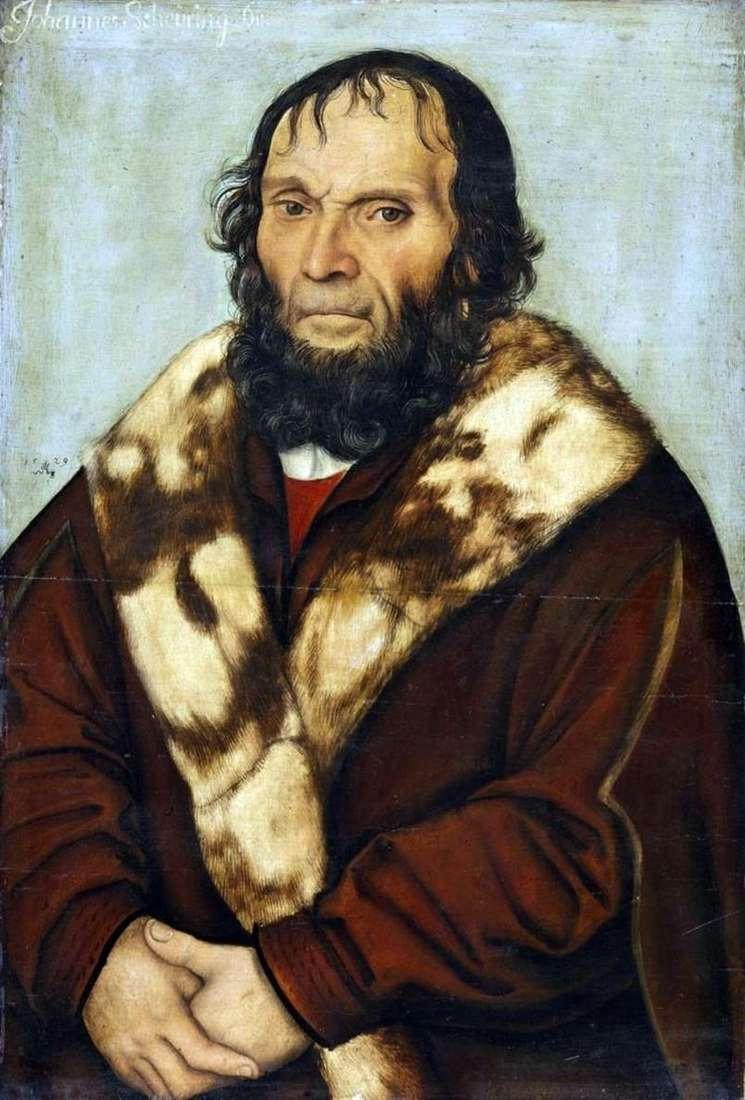صورة للدكتور يوهان شايرنج   Lukas Cranach