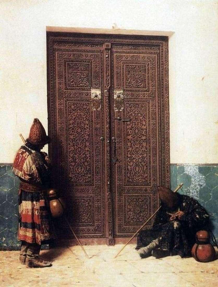 عند باب المسجد   فاسيلي Vereshchagin
