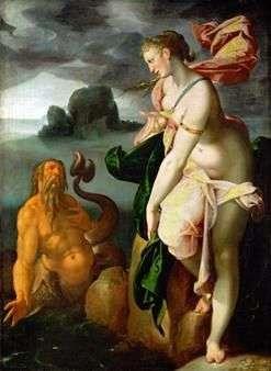 Glaucus و Scylla   Bartholomeus Spranger