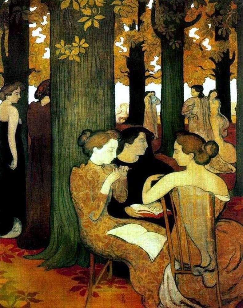 The Muse in the Sacred Grove   موريس دينيس
