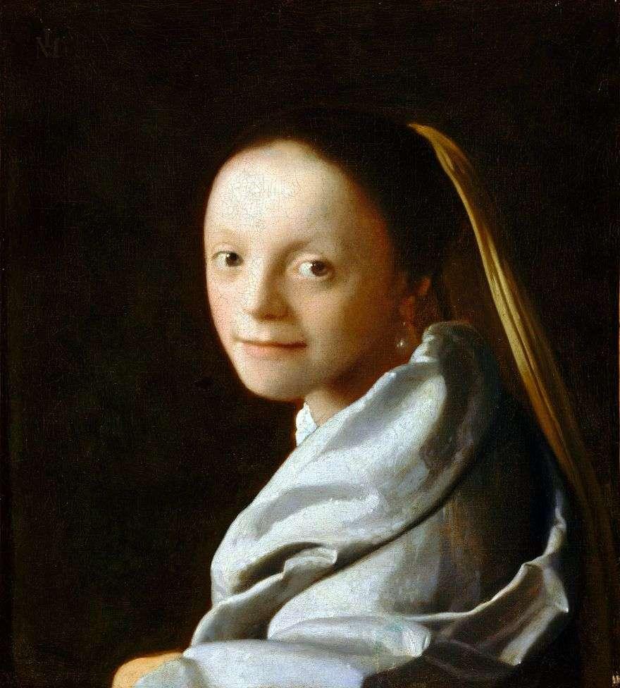 رأس الفتاة   جان فيرمير