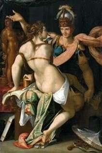 Circe و Odyssey   Bartholomeus Spranger