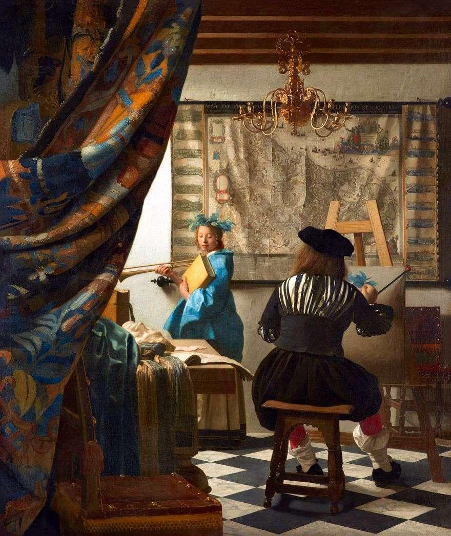 فن الرسم   جان فيرمير