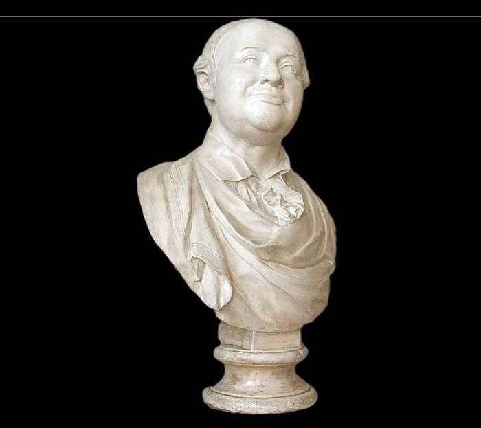 تمثال نصفي لم. ف. لومونوسوف   فيدور إيفانوفيتش شوبان