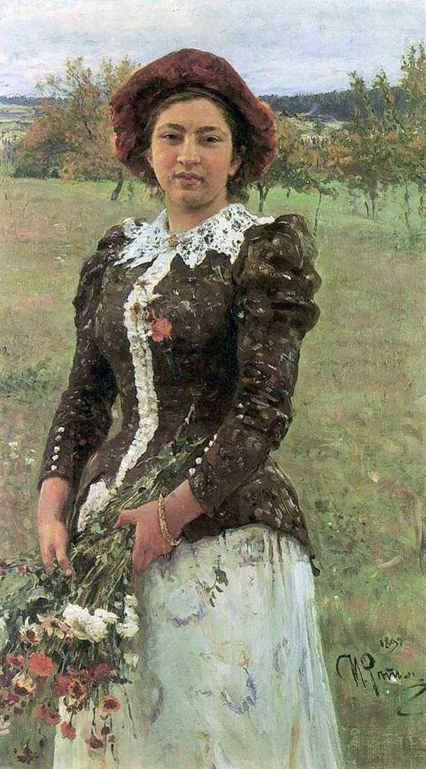 باقة الخريف (ابنة فيرا)   إيليا ريبين