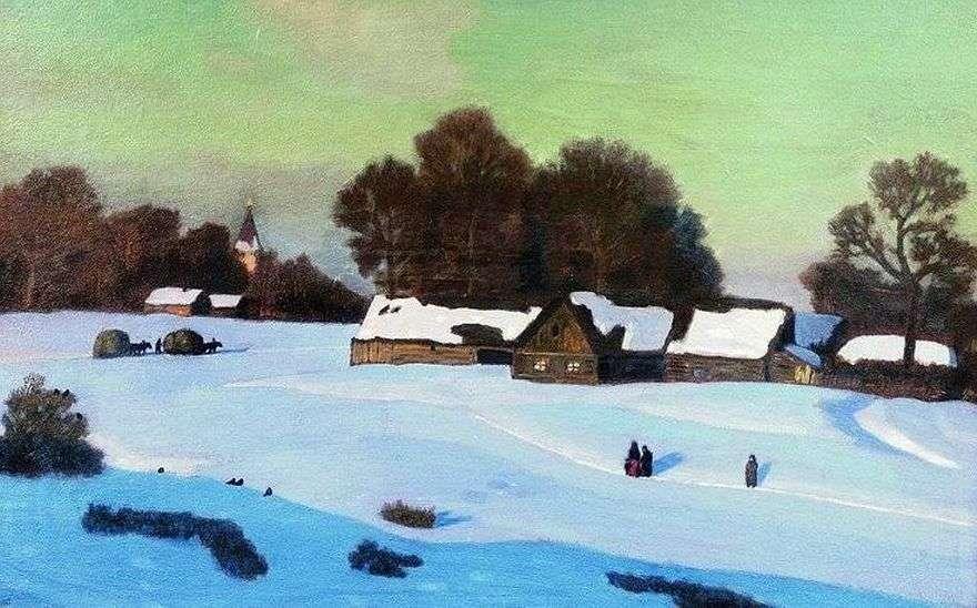 مساء الشتاء   نيكولاي كريموف