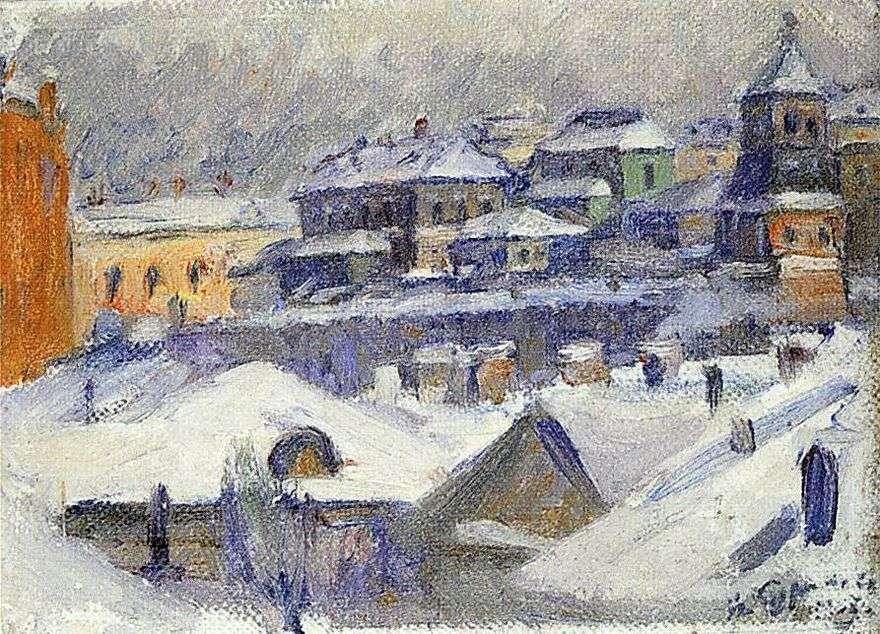 منظر لموسكو   فاسيلي سوريكوف