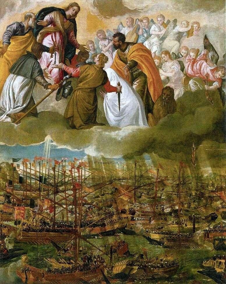 رمزية معركة ليبانتو   باولو فيرونيز