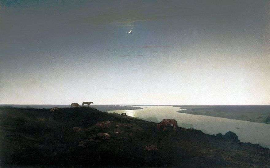 ليلة   سفينة الفضاء Kuindzhi