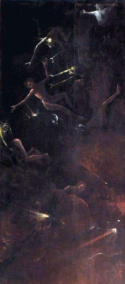 إسقاط المذنبين ، رؤى العالم السفلي   هيرونيموس بوش