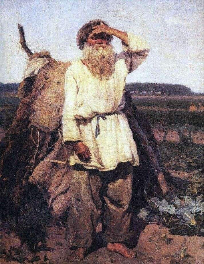 بستاني قديم   فاسيلي سوريكوف