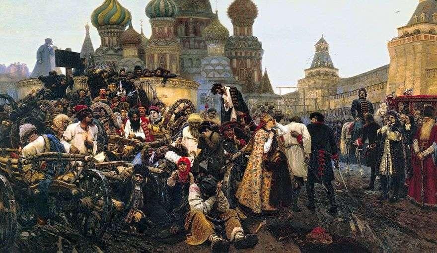 عقوبة الصباح Streltsy   فاسيلي سوريكوف