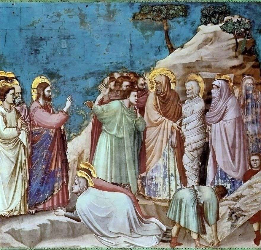 قيامة لعازر   جيوتو