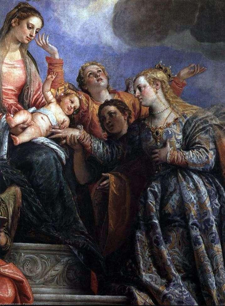 خطوبة القديسة كاترين   باولو فيرونيسي