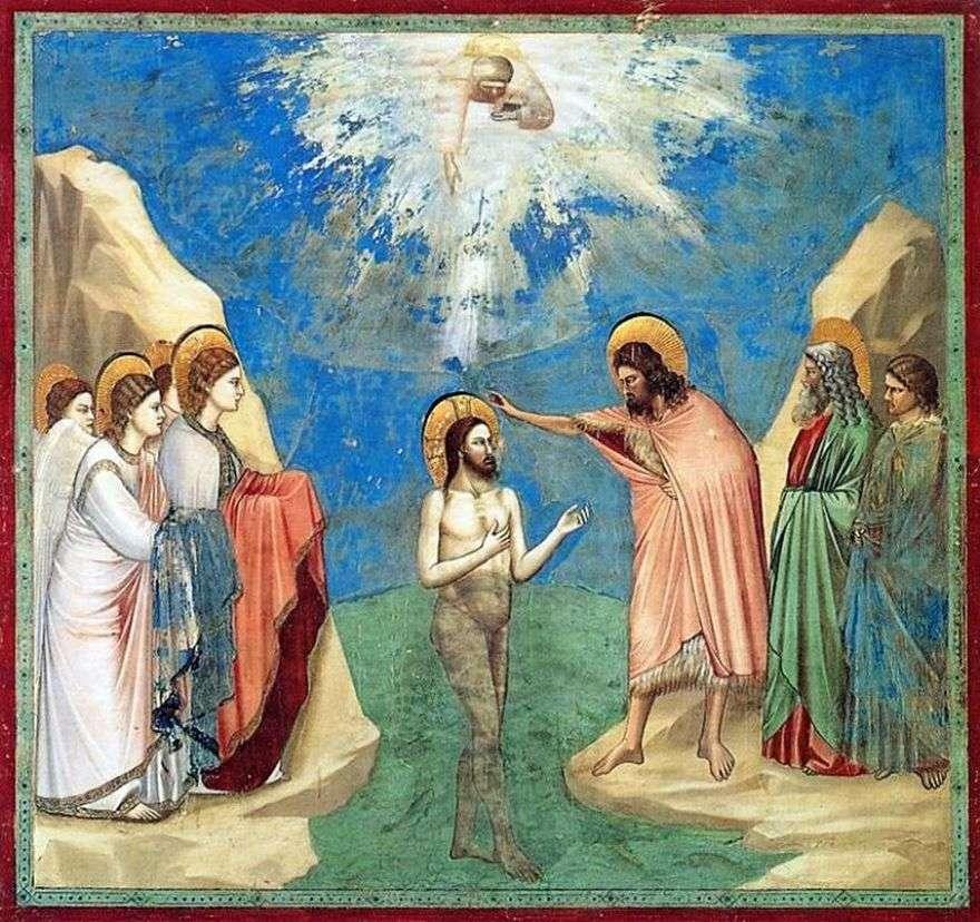 معمودية المسيح   جيوتو
