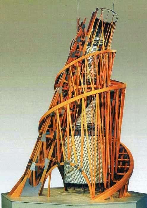 البرج. نموذج لنصب الثالث الدولي   فلاديمير تاتلين