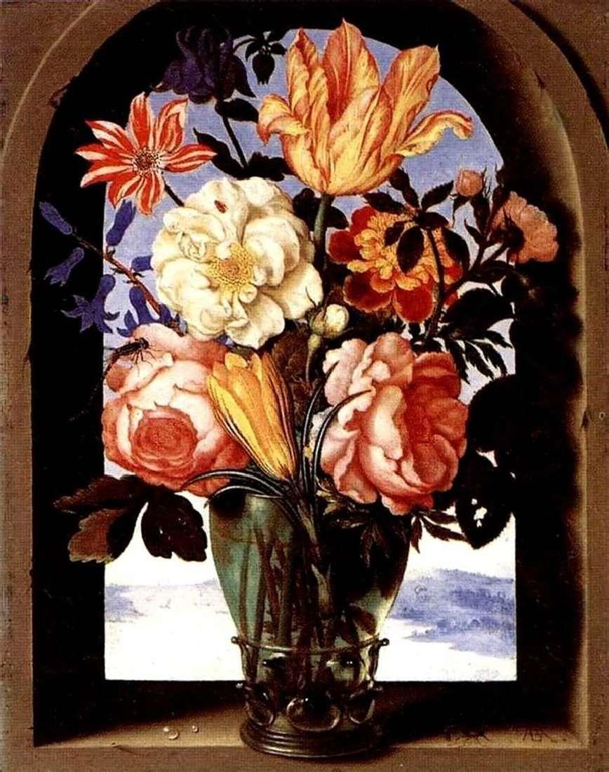 باقة من الزهور   أمبروسيوس بوشارت