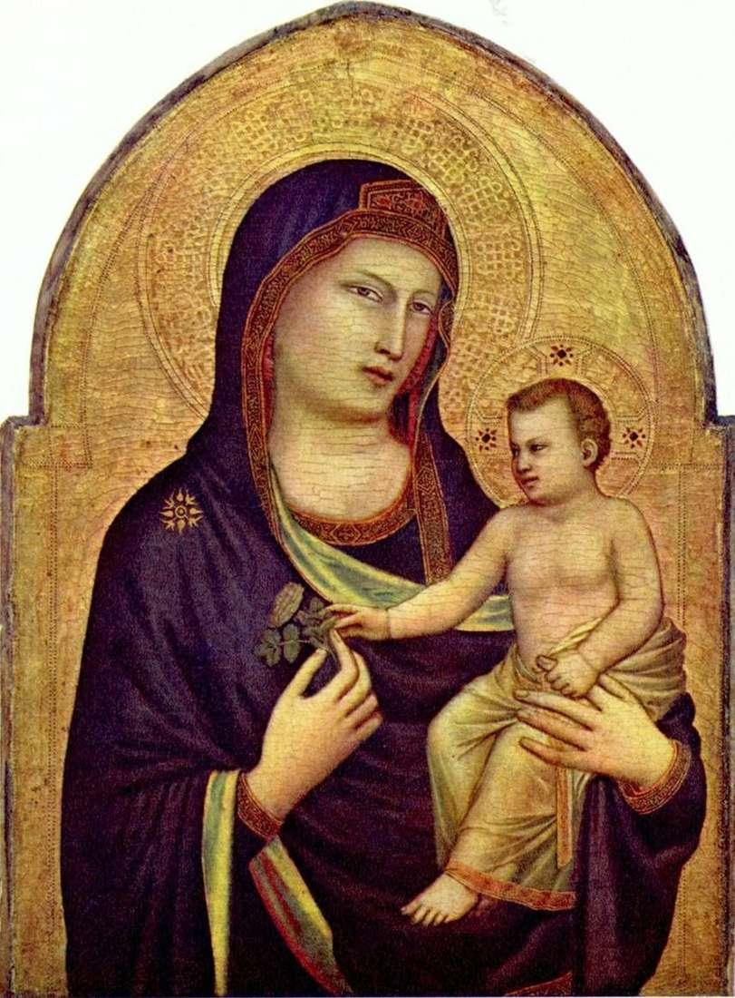 مادونا والطفل   بوندو جيوتو
