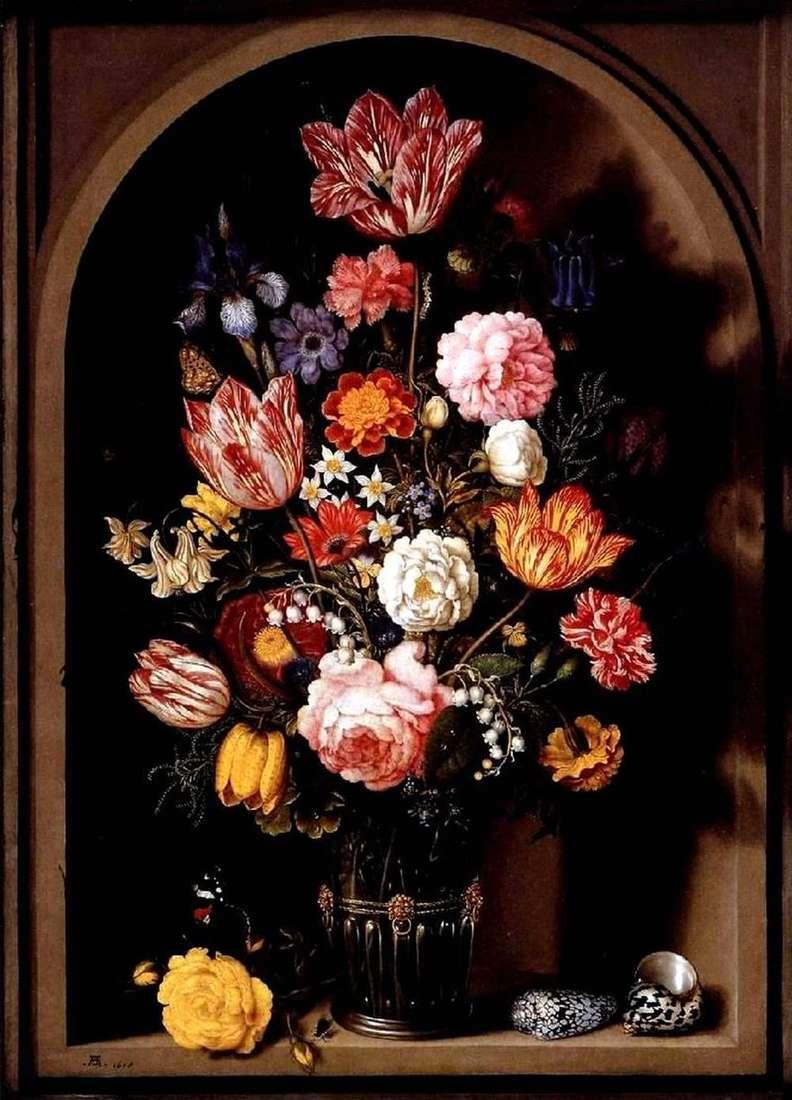 باقة من الزهور في إناء   Ambrosius Boshart