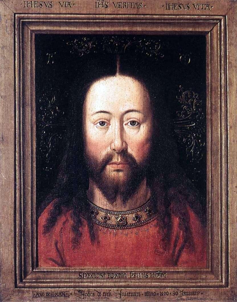 صورة المسيح   جان فان إيك