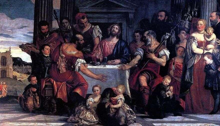 عشاء في Emmaus   باولو فيرونيسي