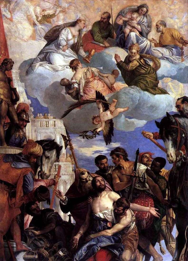 تضحية القديس جورج   باولو فيرونيسي