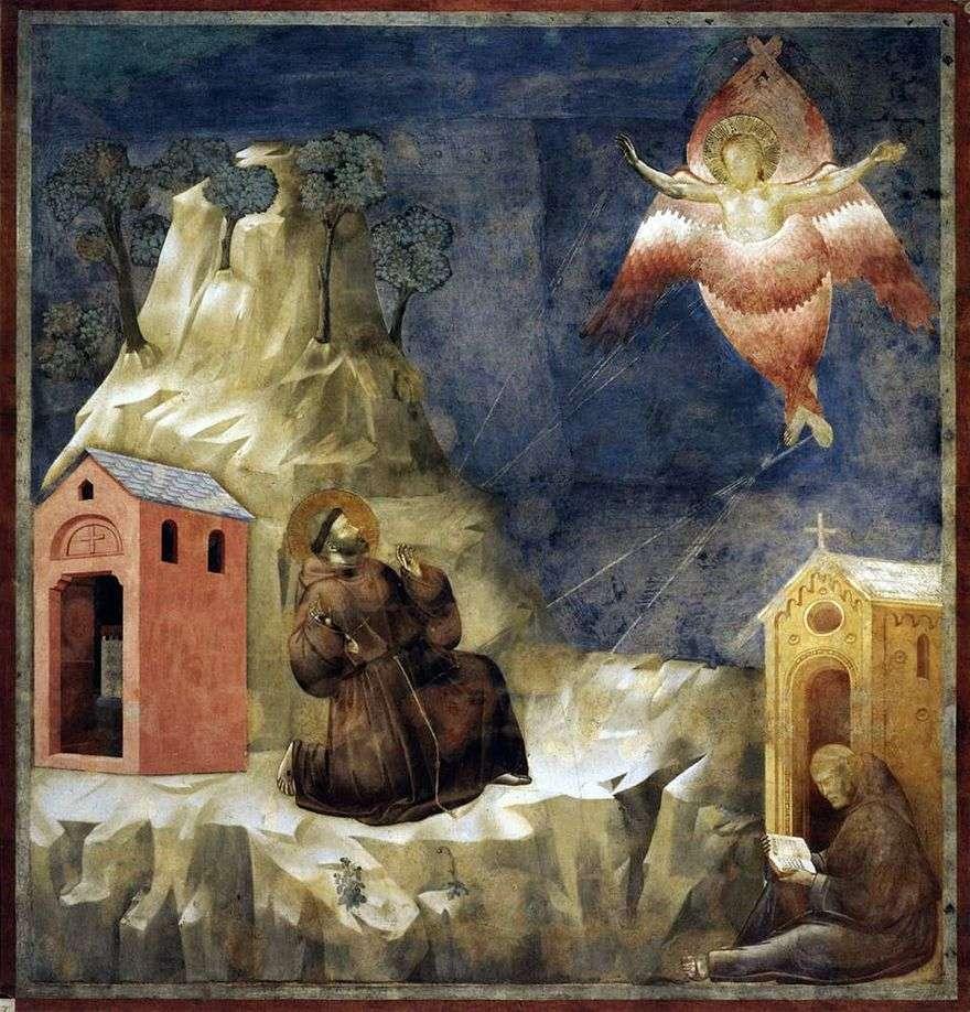 وصمة القديس فرانسيس   جيوتو