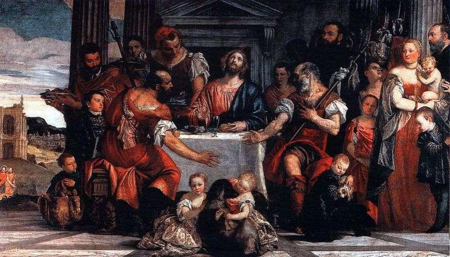 المسيح في عمواس   باولو فيرونيسي