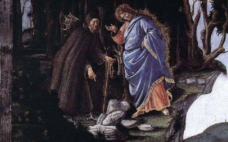 إغراء المسيح   ساندرو بوتيتشيلي
