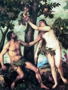 آدم وحواء   تيتيان فيسيليو