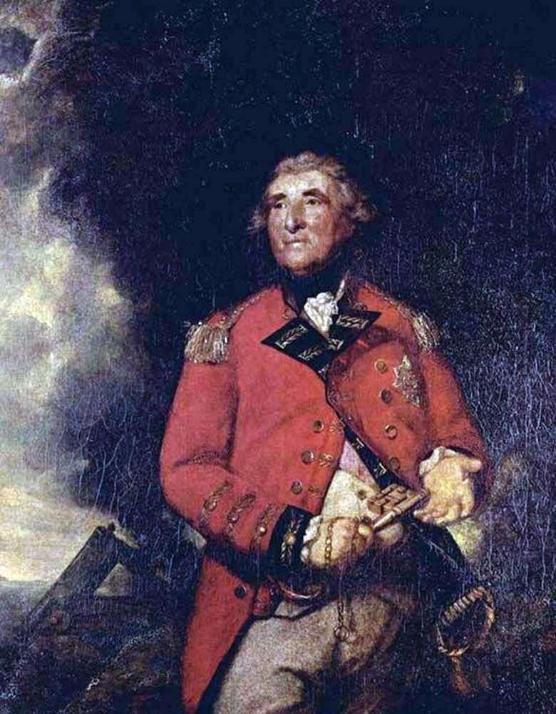 اللورد هيثفيلد ، حاكم جبل طارق   رينولدز جوشوا