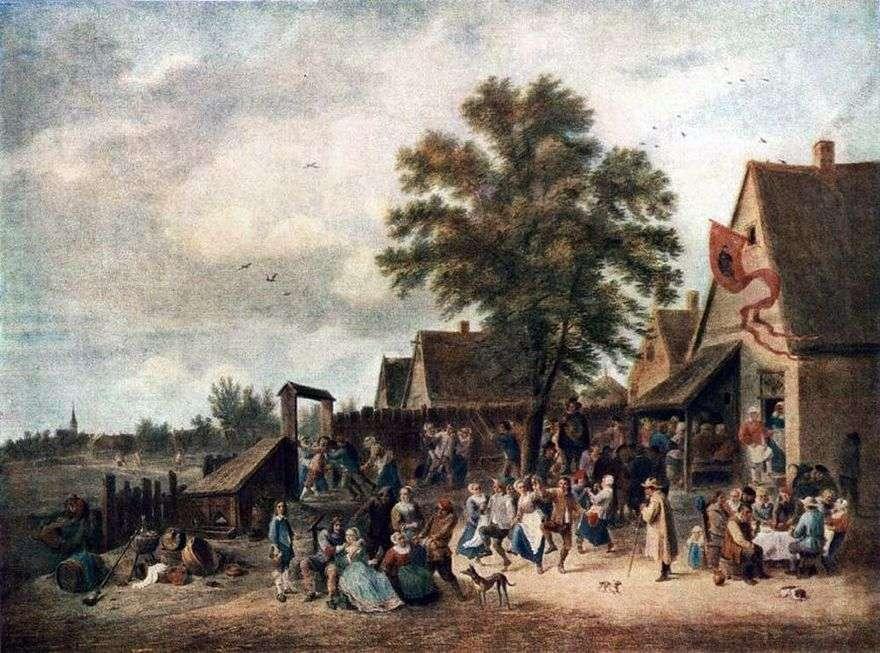 عطلة في القرية   ديفيد تينيرز