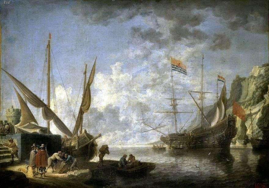 ميناء شاطىء البحر   ديفيد تينيرز