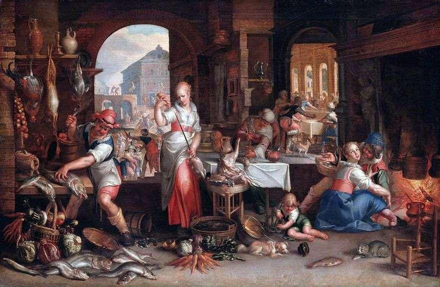 مشهد المطبخ   يواكيم إيتيفال