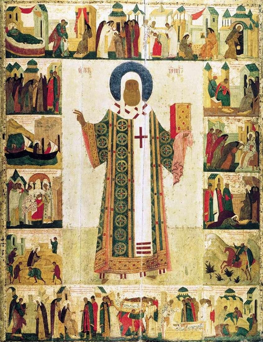 القديس متروبوليتان بيتر مع الحياة   ديونيسيوس