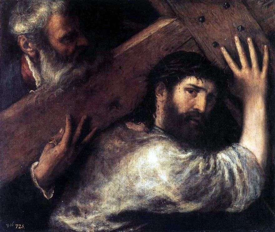 حمل الصليب   تيتيان فيسيليو