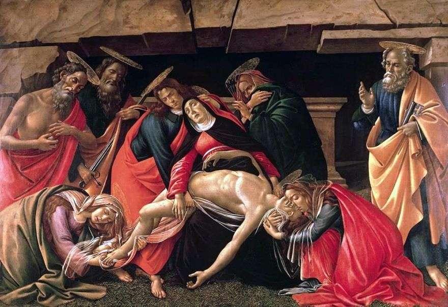 شاهد قبر   ساندرو بوتيتشيلي