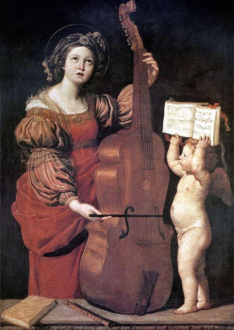شارع الموسيقى سيسيليا مع الملاك   دومينيشينو
