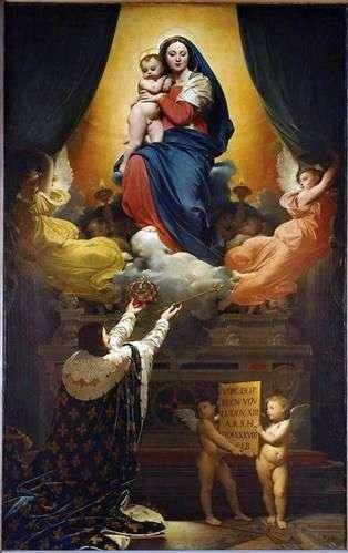 نذر لويس الثالث عشر   جان أوغست دومينيك إنجرس