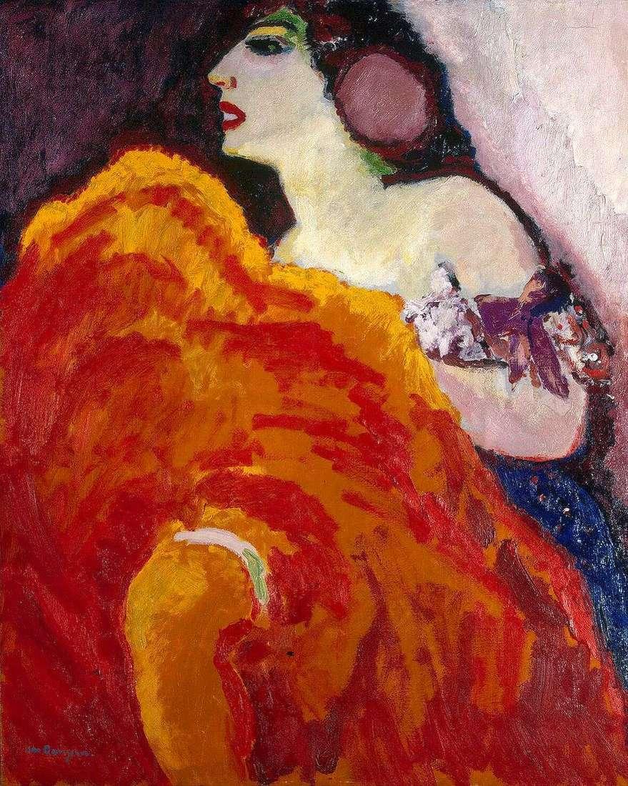 الراقصة الحمراء   كيس فان دونجن