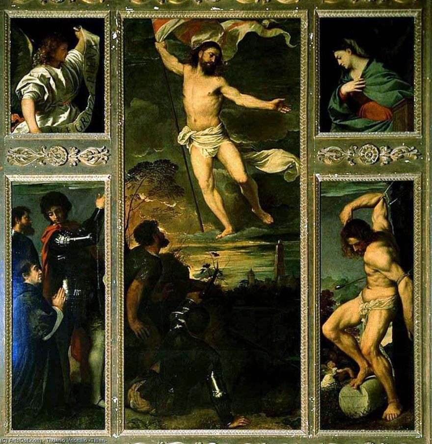 القيامة المتعددة   تيتيان فيشيليو