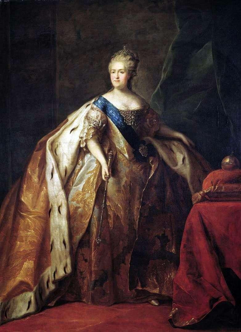 صورة للإمبراطورة كاثرين الثانية   بيتر دروزدين