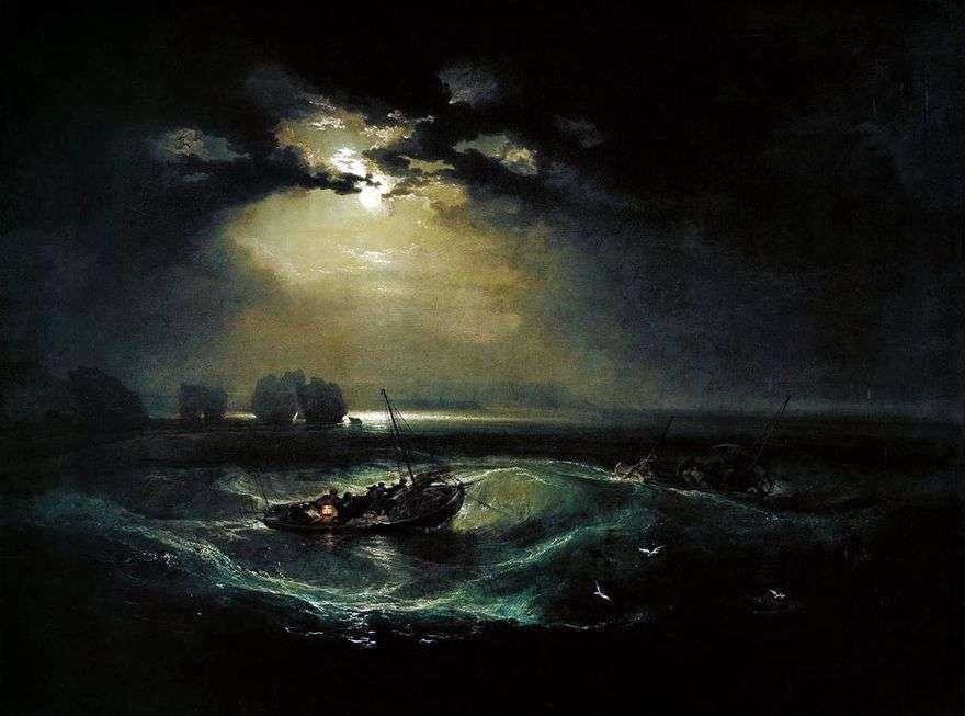 الصيادون في البحر   ويليام تيرنر