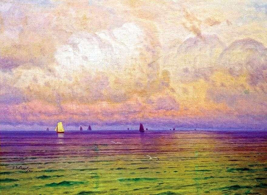 البحر المراكب الشراعية   نيكولاي دوبوفسكي