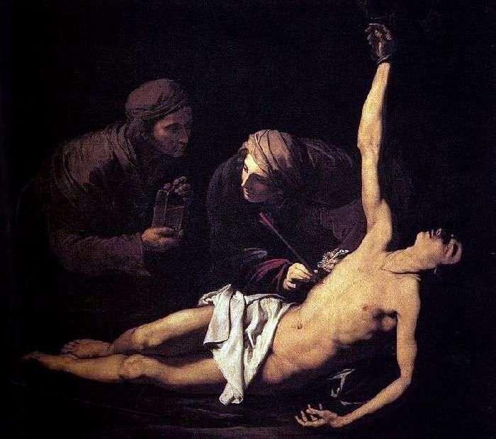 استشهاد القديس سيباستيان   هسيبة ريبيرا
