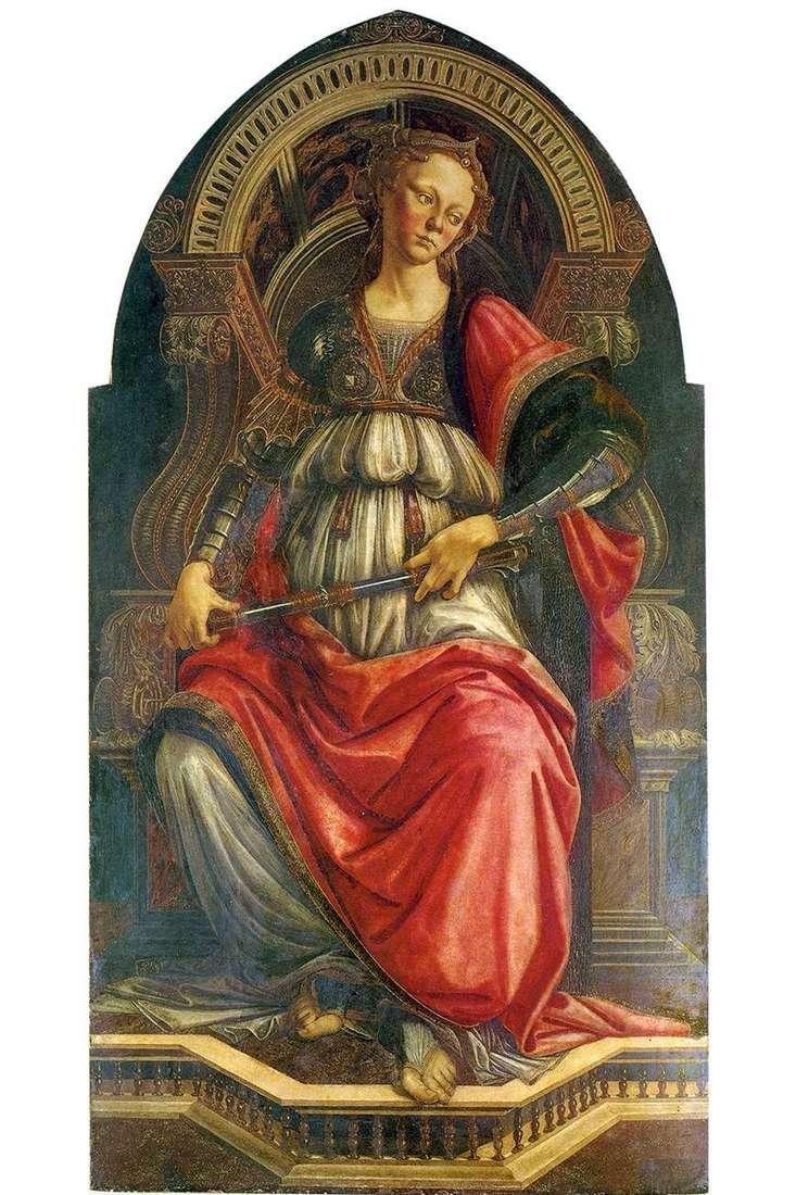 رمزية القوة (الثبات)   ساندرو بوتيتشيلي