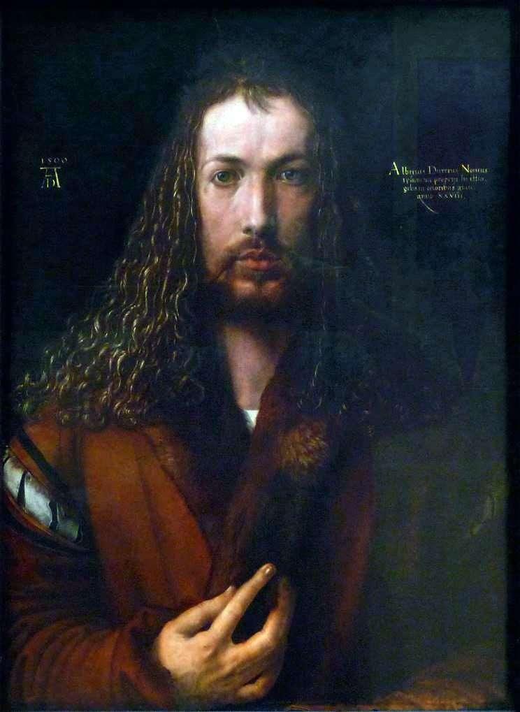 بورتريه ذاتي (1500 عام)   ألبريشت دورر